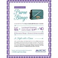 Designer Purse Bingo benefiting the Hays-Caldwell Women's Center