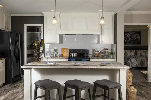 Modern Farmhouse Style home with tons of cabinet space