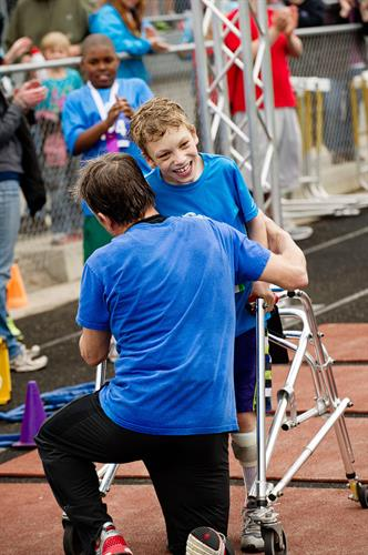 We offer adaptive triathlons in Waunakee and Middleton to make sure all kids have opportunities to be active!