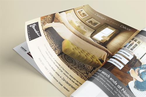 Zander's Interiors - BRAVA Print Ad