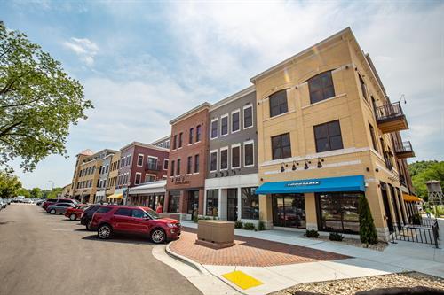 The Northwest-facing corner of Middleton Center.