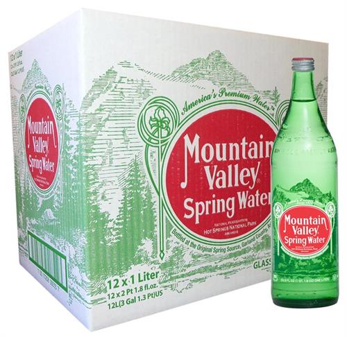 Mountain Valley Spring, Sparklilng and Flavored Water