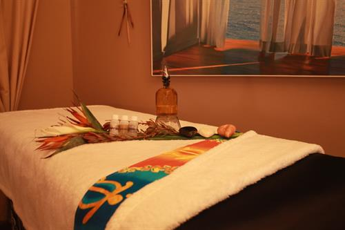 Lomi Lomi Massage Room
