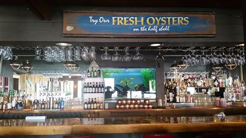Our Hand Crafted Cocktails go wonderfully with our fresh oysters!