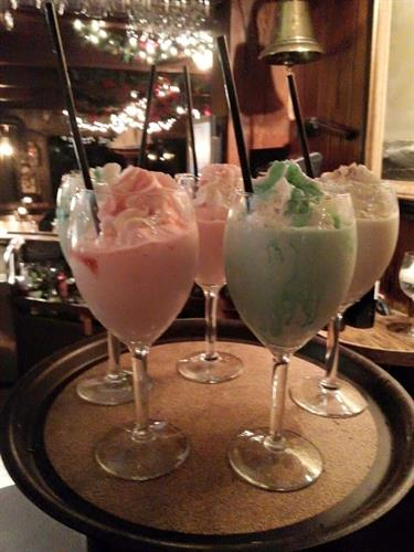 Word is out about our amazing ice cream cocktails!