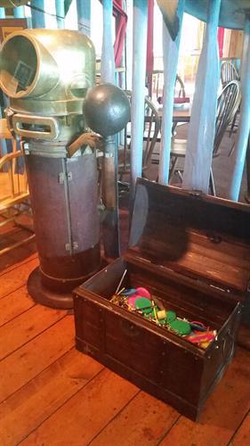Treasure at Captain Bill's!