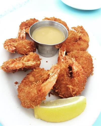 There is Never enough Coconut Shrimp!