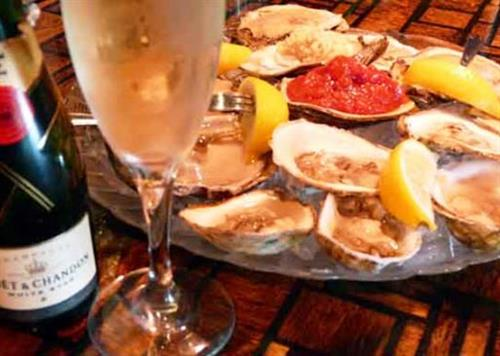Oysters on the Half Shell, Oysters Rockefeller, Deep Fried Oysters & Oyster Shooters!