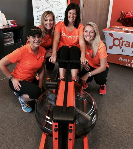 Our water rowers are made to Orangetheory Fitness specifications