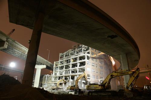 TRC - Demolition of Building for Marquette Interchange Reconstruction