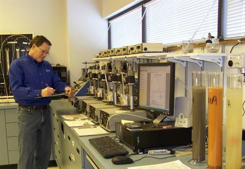 TRC - Geotechnical Testing Lab