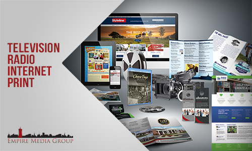 Empire Media Group can help with all of your advertising needs