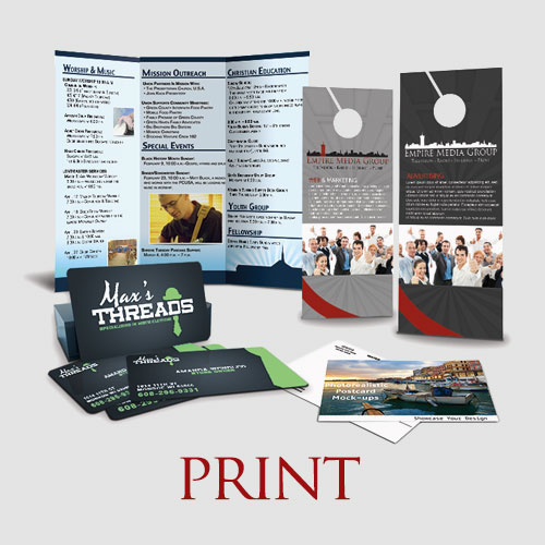 If you can dream it, chances are we can design and print it for you.