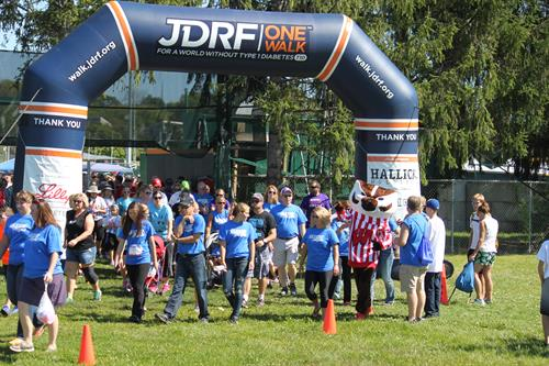 2016 JDRF One Walk - Madison
