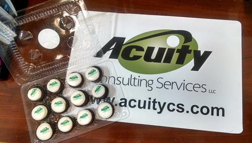Clients love cupcakes!