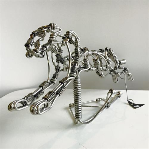 Wire sculpture done by Ian Zander
