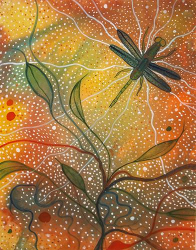 I am also an artist.  PAUSE Online Art Gallery.