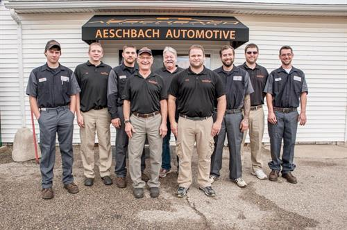 Our Team here at Aeschbach Automotive