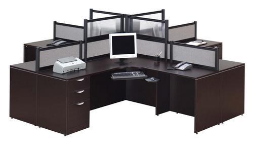 4 Person Desk Pod
