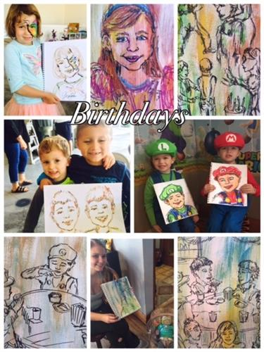Give something meaningful as a party favor or enhance the party theme with creative paint workshop.