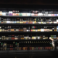 16 feet of open, self-serve cooler featuring 300 craft brews