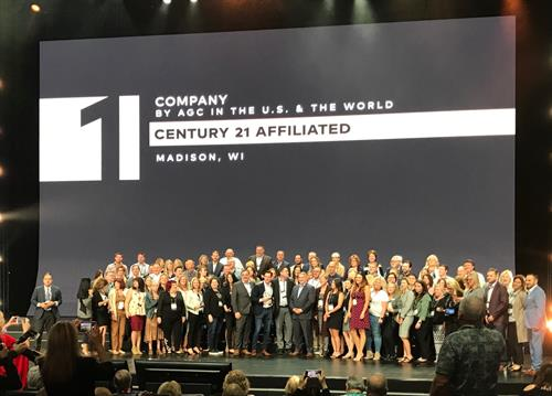 We are the #1 Century 21 company in the world for the 6th year in a row!