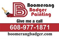 Boomerang Badger Painting
