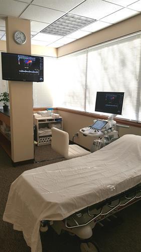 Ultrasound Scanning room