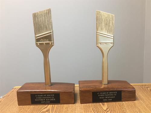 Awards for our long term employees