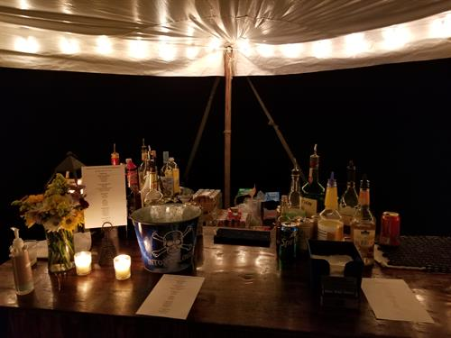 Campbellsport WI Campground Wedding Reception