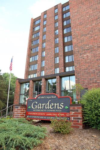 The Gardens retirement community, 602 N. Segoe Rd, Madison (near Hilldale Shopping Center)