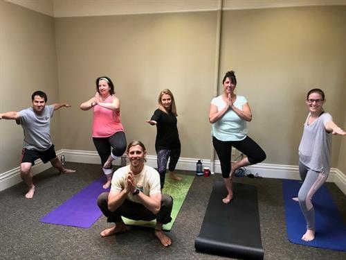Yoga pose!