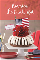 Perfect July 4th centerpiece and dessert!  Enjoy!