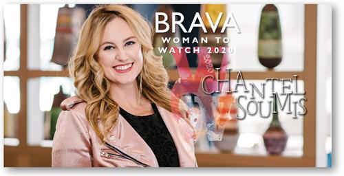 Recognized by Brava Magazine's Women to Watch 2020