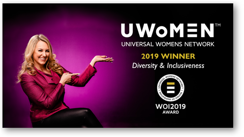 Woman of Inspiration in Universal Womens Network