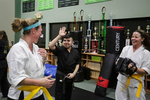 Adult Martial Arts is a Great Compliment or Jump Start to reach your fitness goals!
