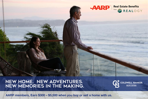 AARP® Real Estate Benefits from Realogy