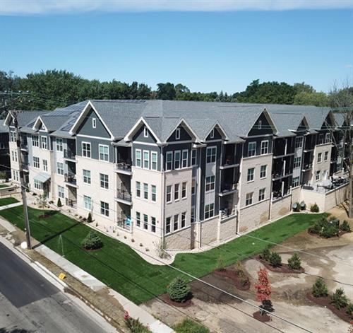 Stage Coach Trails: 46 Unit Mixed Use/Apartment Building