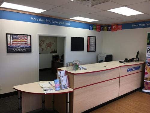 Fast Signs: 5,000 SQFT Commercial Tenant Improvement and Expansion
