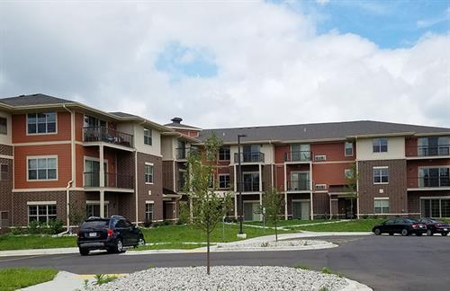 Scenic Ridge Phase III: 45 Unit Apartment Building