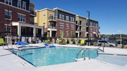 Tribeca Village and Pool: 51 Unit Apartment Building