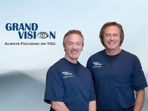 Dr. Ryann Donaldson and Dr. Brett Donaldson