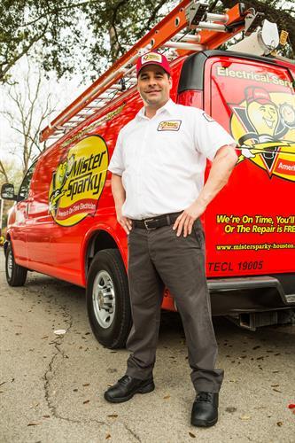 Mister Sparky Electrician Katy Texas