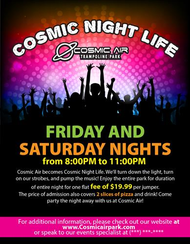 Cosmic Night Life