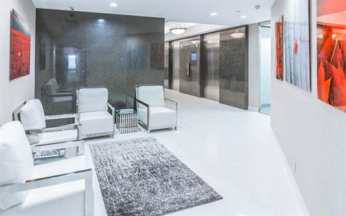 Modern Risk Management Waiting Area