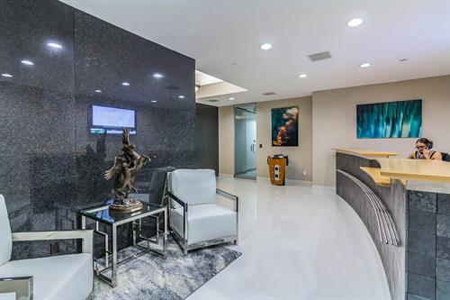 Modern Risk Management Reception Area