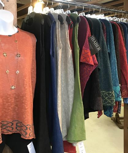 Linen and Silk Dresses, Jackets and Tops from Scotland.