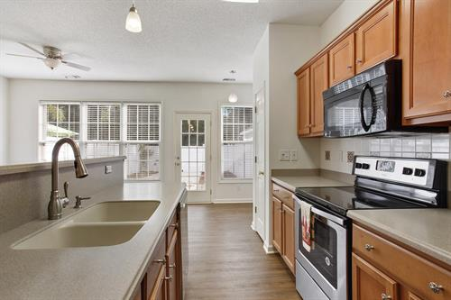 Upgraded Kitchen - Westbury Townhome