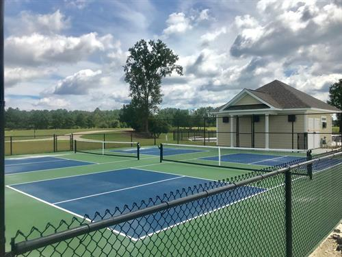 Pickle Ball Courts - Hilton Head Lakes