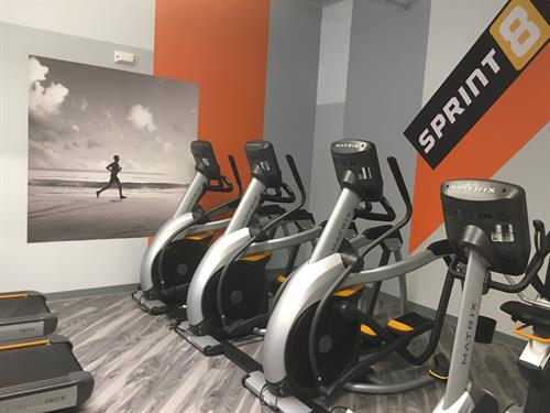 Matrix cardio area